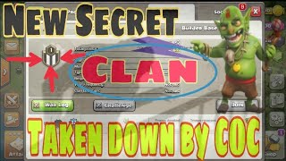 New Secret clan in clash of clans|| ghostly clan banned in COC||clash of clans ghost clans