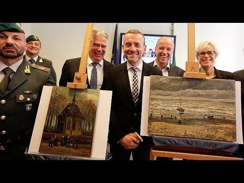Trovati in un casolare della camorra due dipinti di Van Gogh rubati ad Amsterdam