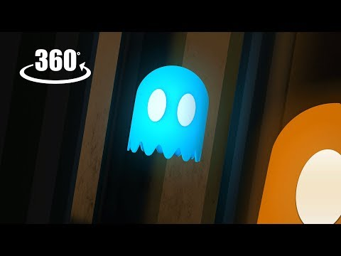 Pac-Man's Haunted House VR