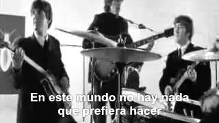 Beatles   I m happy just to dance with you Subtitulado Esp