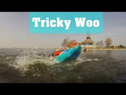 Tricky Woo - Flatwater kayak Freestyle