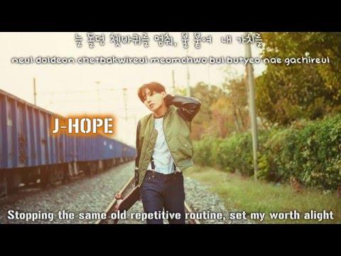 BTS J-Hope (제이홉)  - 1 VERSE [Lyrics Han|Rom|Eng]