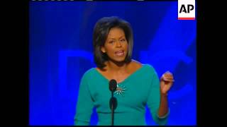 Michelle Obama,  Kennedys are highlights of first day at Convention