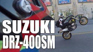 Test Ride: 2015 Suzuki DRZ400SM