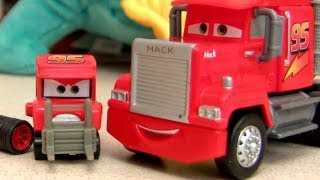 My name is NOT Chuck Disney Cars Mack Semi Truck #3 Diecast Mattel Pixar Review Mega Size