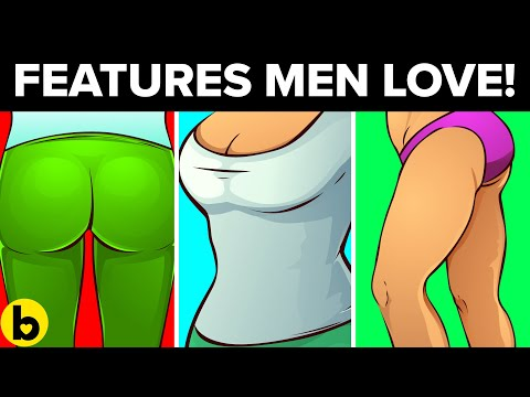15 Female Features That Guys Find Most Attractive