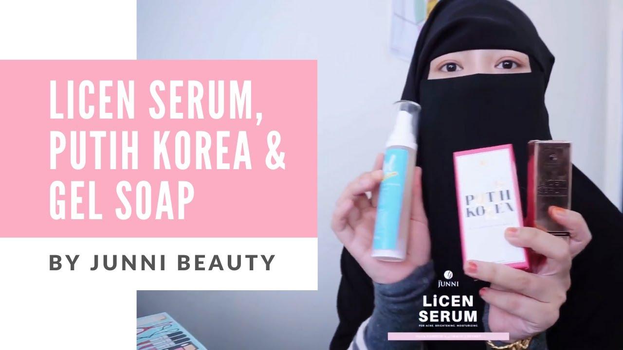 Founder Bebel pasal Produk The Junni (Licen Serum, Putih Korea & Gel soap)