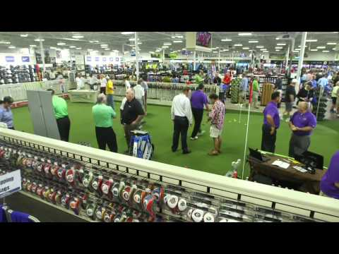 PGA TOUR Superstore Grand Opening Day in Orlando, FL!!!