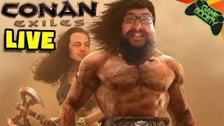 Conan Exiles LIVE! - Game Society