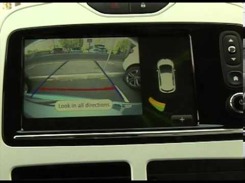 Zoe Clio Einparkhilfe R 252 Ckfahrkamera Youtube