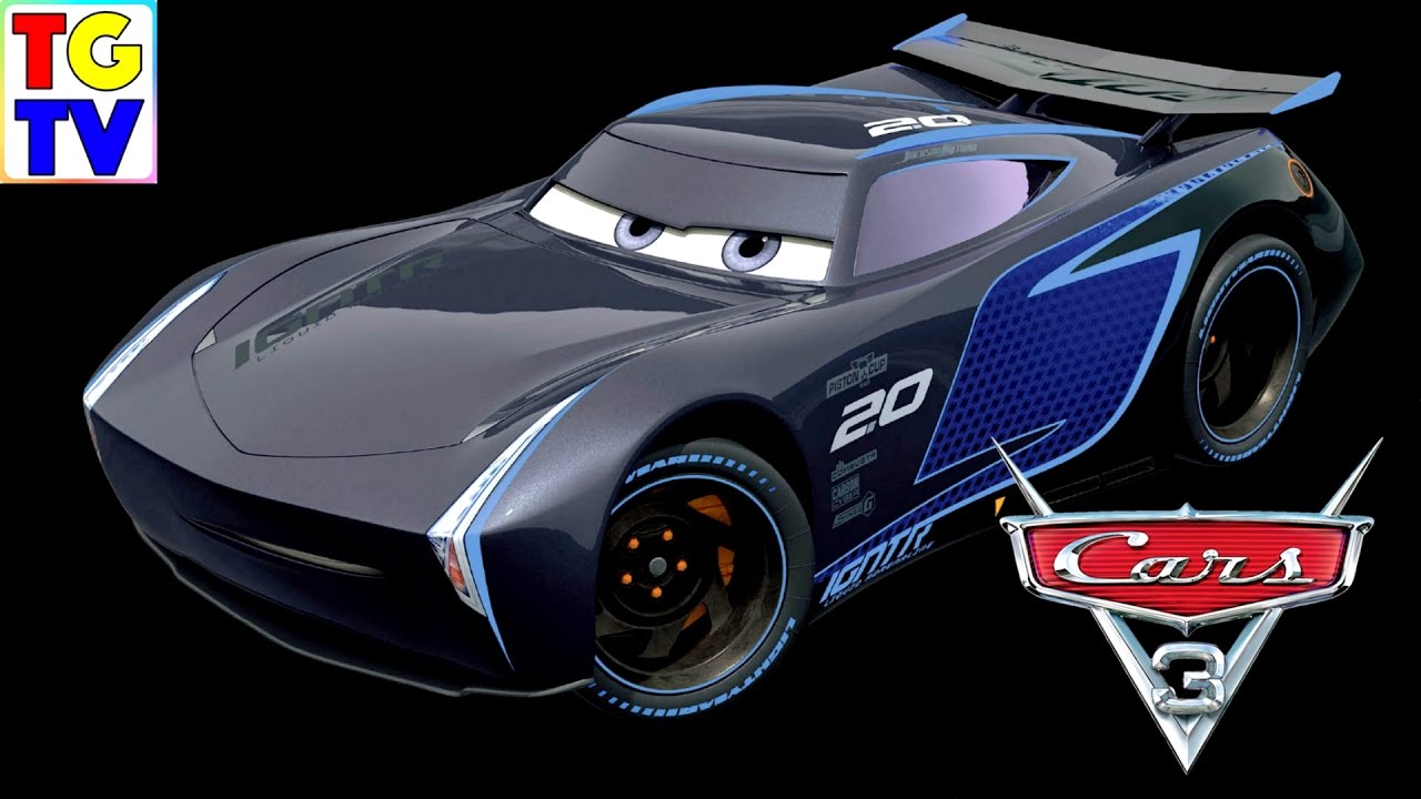 cars 3 jackson storm lightning mcqueen youtube. Black Bedroom Furniture Sets. Home Design Ideas