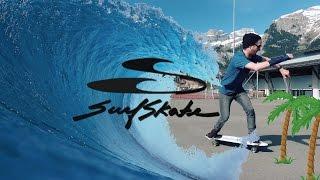 SURFSKATE  Test J.O.B Tahiti