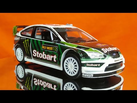 Ford Focus RS WRC (Rally Sweden 2010) 1:32 Scale Saico Diecast Car