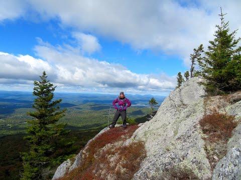 Hiking the White Mountains of Ne Hampshire - Mountain Man Adventures #29