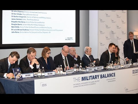 Military Balance 2018: IISS analysts brief the press