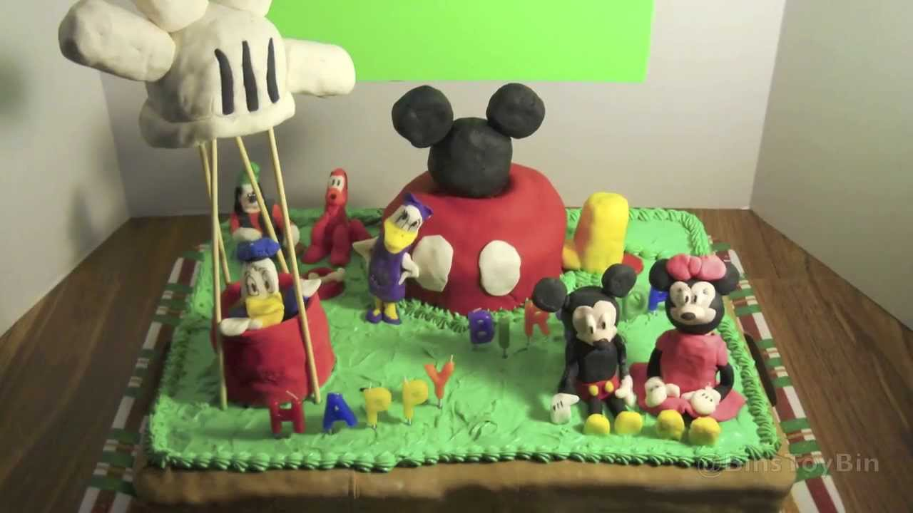 Disney Summer 3 MICKEY MOUSE CLUBHOUSE Custom Birthday Cake Made