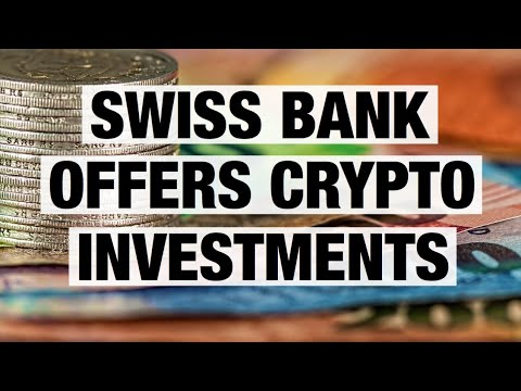 Next Level Adoption - Swiss Bank Offers Crypto Investment