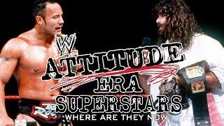 Where are they Now!? 12 WWF(E) Attitude Era Superstars! [RE-UPLOAD]