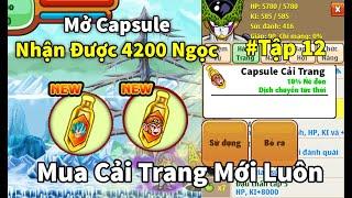 Gambar cover Ngọc Rồng Online - Mở capsule nhận 4200 ngọc xanh mua luôn cải trang mới
