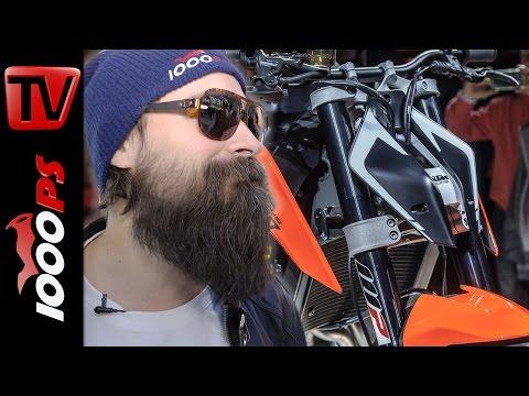 KTM 790 Duke Prototype - Details   KOTs Motorrad Neuheiten 2017 Foto