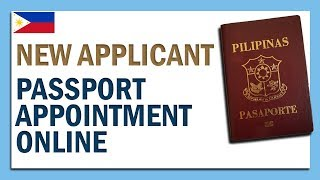 PAANO MAG-SCHEDULE NG PASSPORT (NEW APPLICANT) APPOINTMENT ONLINE