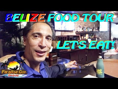 BELIZE Food Tour - San Pedro Town - Ambergris Caye - Paradise Guy