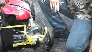 Trimmer and Edger Lawn Mower Attachment