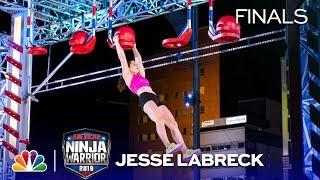 Jesse Labreck's Historic Run   American Ninja Warrior Cincinnati City Finals 2019