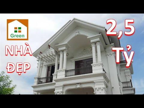 NHÀ ĐẸP 2020 Mẫu Nhà 2 Tầng Tân Cổ Điển 4 Phòng Ngủ 12 m x 16 m