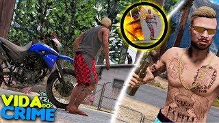 GTA V | VIDA DO CRIME - BABALU JOGOU FOGO NA CASA DO MEU PAI !!  - #56