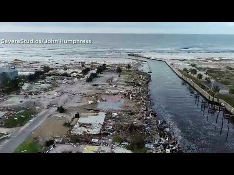 Hurricane Michael Leaves Trail of Devastation in Northwest Florida