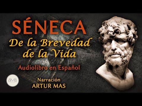 """Séneca - De la Brevedad de la Vida (Audiolibro Completo en Español) """"Voz Real Humana"""""""