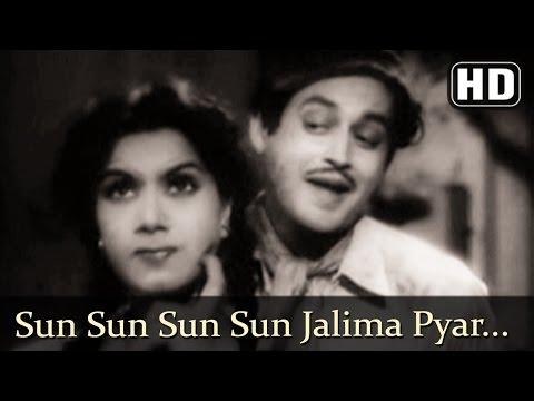 Sun Sun Sun Sun Jalima Pyar HD  Aar Paar Songs  Guru Dutt  Shyama  Shakila  Filmigaane