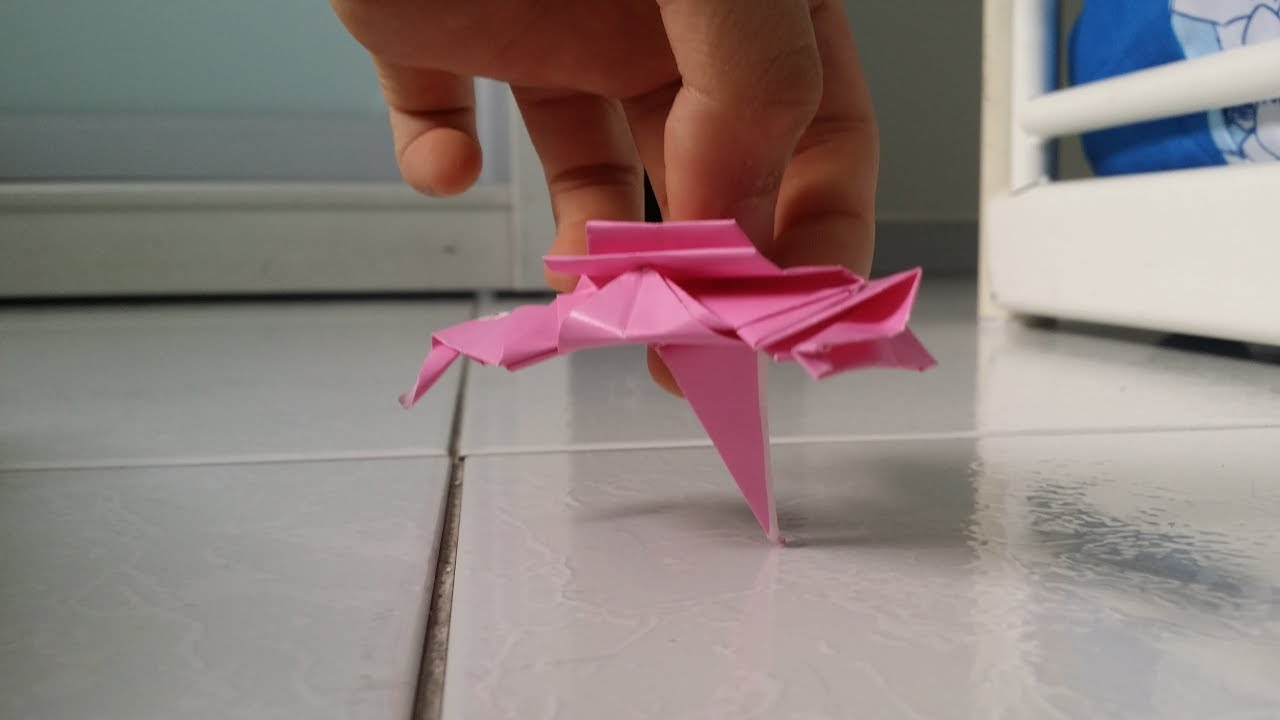 How To Fold Origami Resistance Ski Speeder Read Pinned Comment