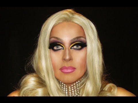 Drag Queen Makeup Transformation From Man To Woman You