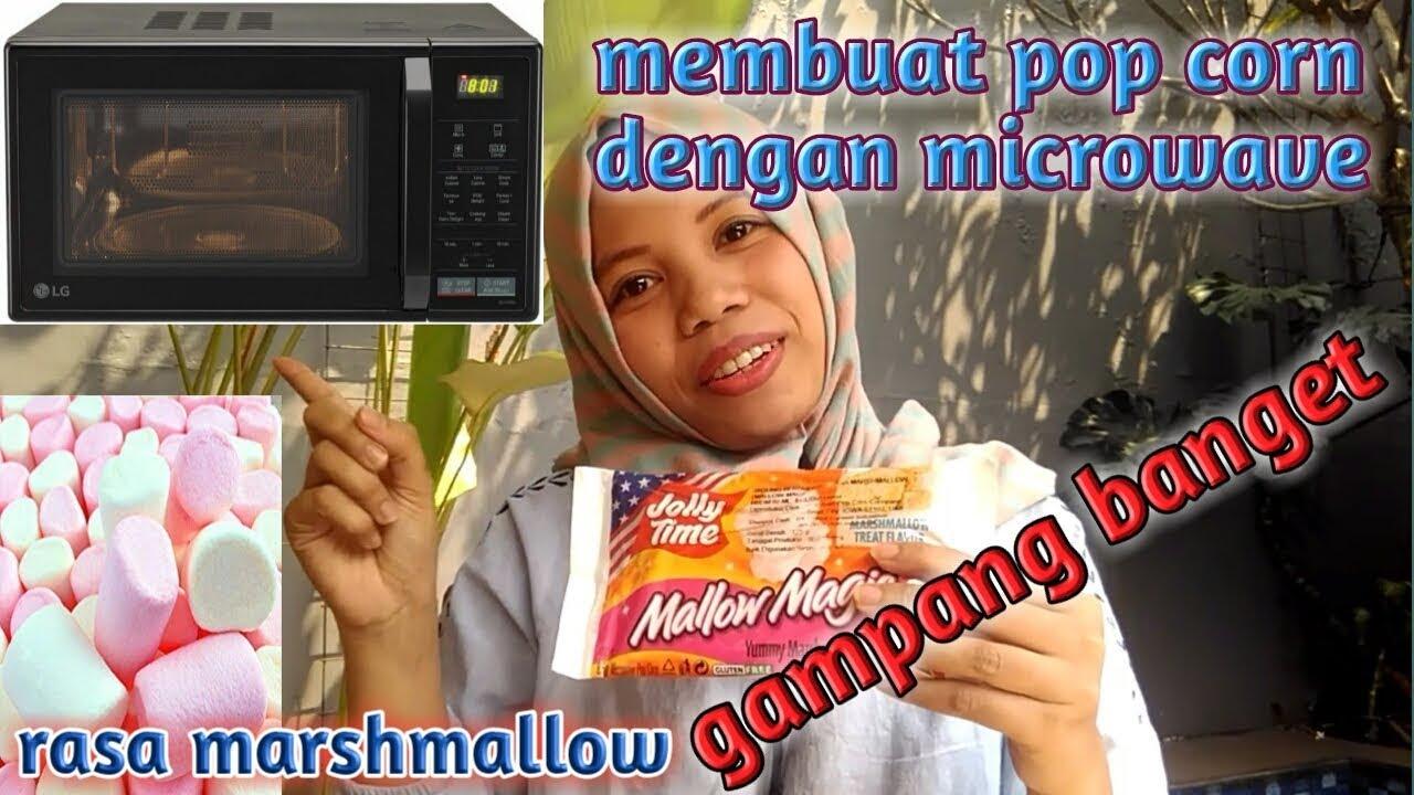 Cara Membuat Popcorn Di Microwave Jolly Time Rasa Mallow Magic Youtube