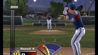 MVP Baseball 2005 - Mini game of batting - Chipper Jones