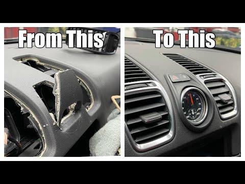Porsche 981 Sport Chrono Retrofit: (Install DIY)