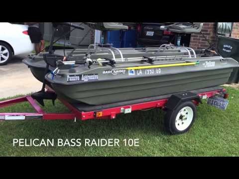 Pelican bass raider 10e youtube for Pelican bass raider 10e fishing boat