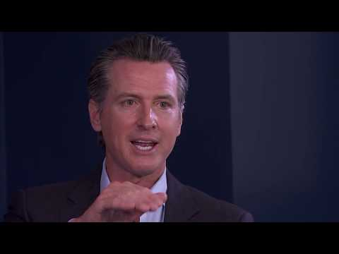 Raw Video: Interview with Gubernatorial candidate Gavin Newsom