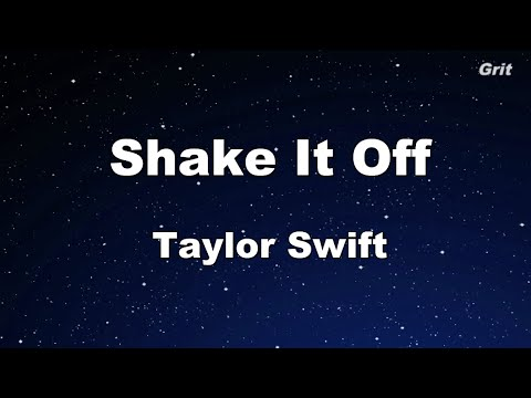 Shake It Off - Taylor Swift  Karaoke【With Guide Melody】