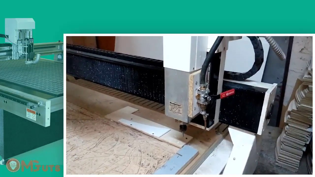 How to prepare your cnc machine to start work - NC studio video course