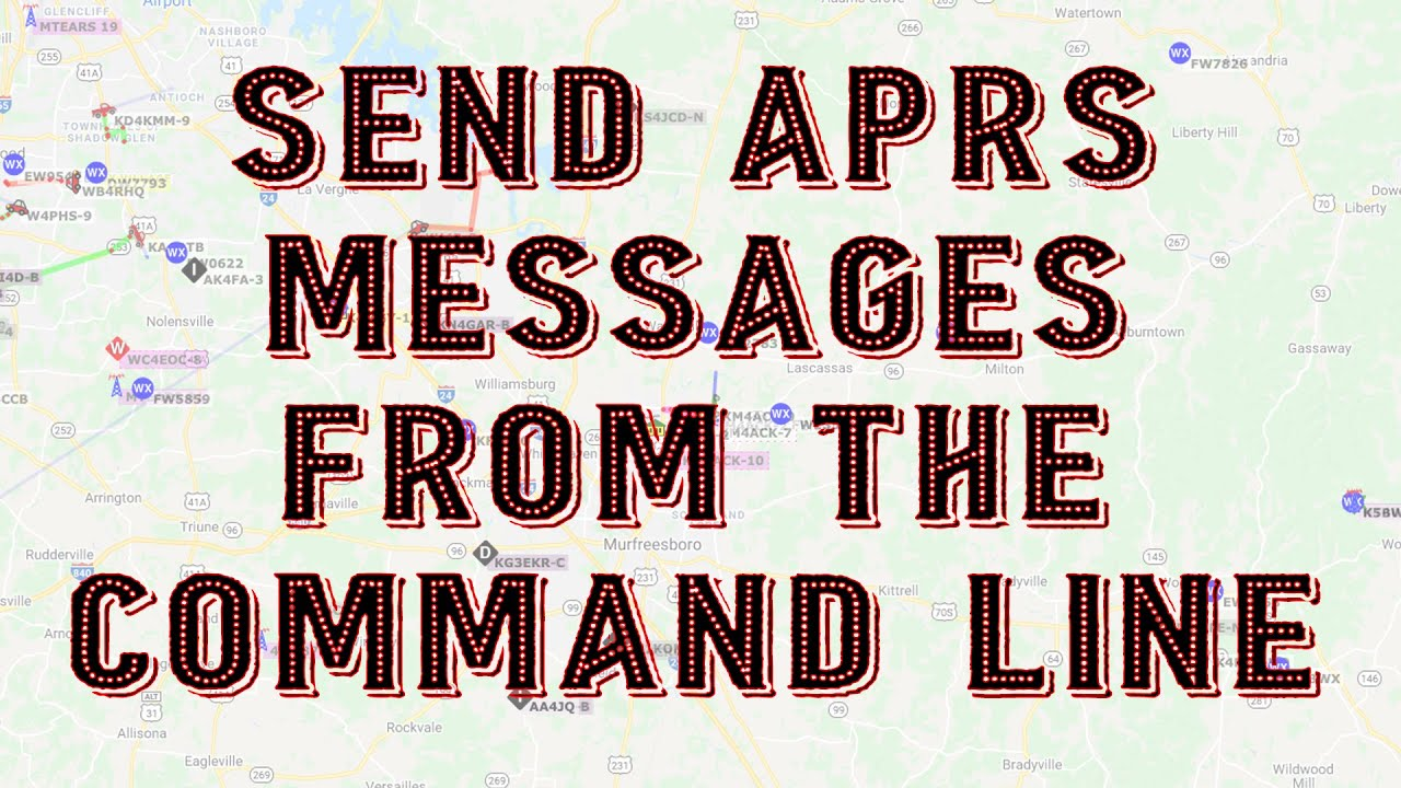 Download APRS Messages from the Command Line