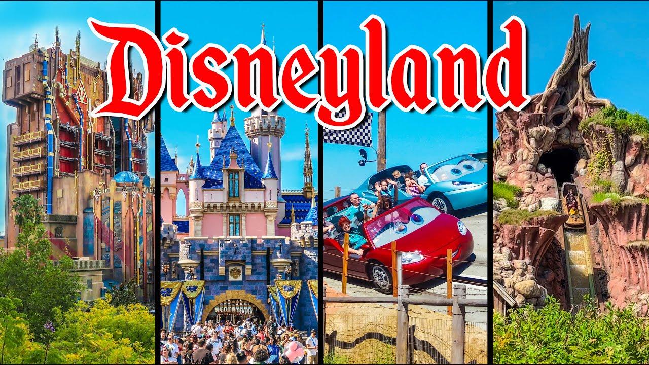 Top 10 Disneyland Rides Virtual Park Hopping With Disney Ride Povs Youtube