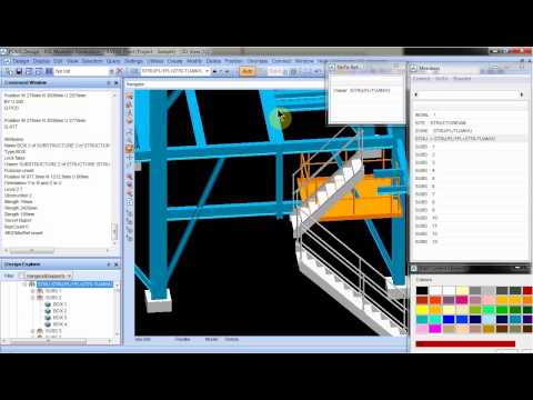 HOW TO CREATE STAIR IN PDMS