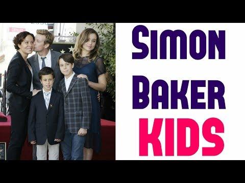 Simon Baker Kids 2017  Simon Baker's Family