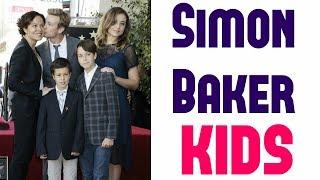 Simon Baker Kids (2018) -- Simon Baker's Family