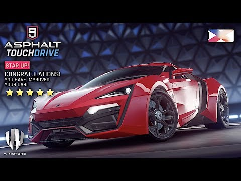asphalt-9:-legends---w-motors-lykan-hypersport-5-stars-maxed-level