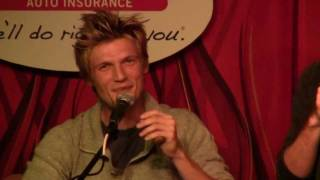 Nick Carter Up Close and Personal