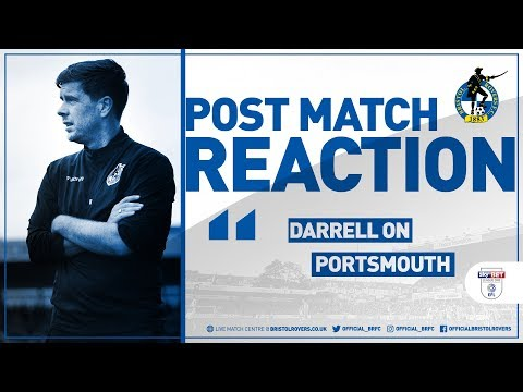 Reaction: Darrell Clarke Post Portsmouth